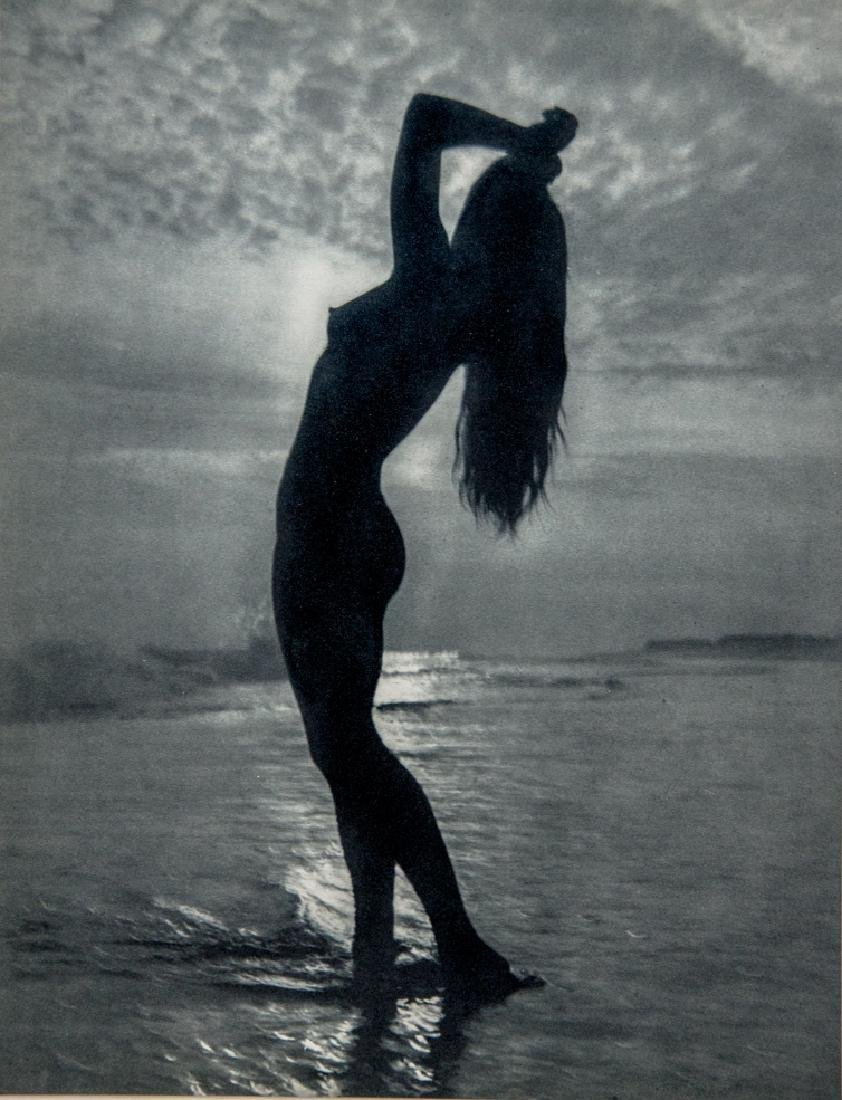 ANDRE DE DIENES - Nude Silhouette