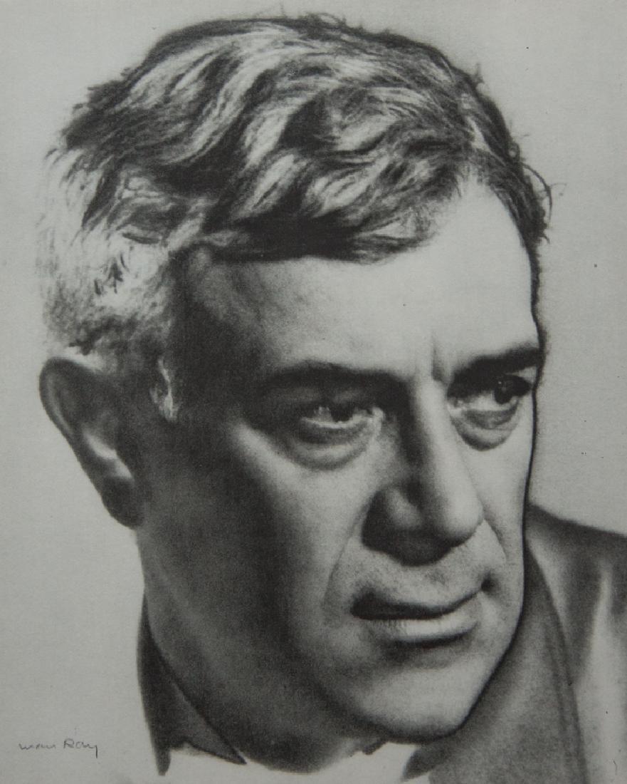MAN RAY - George Braque