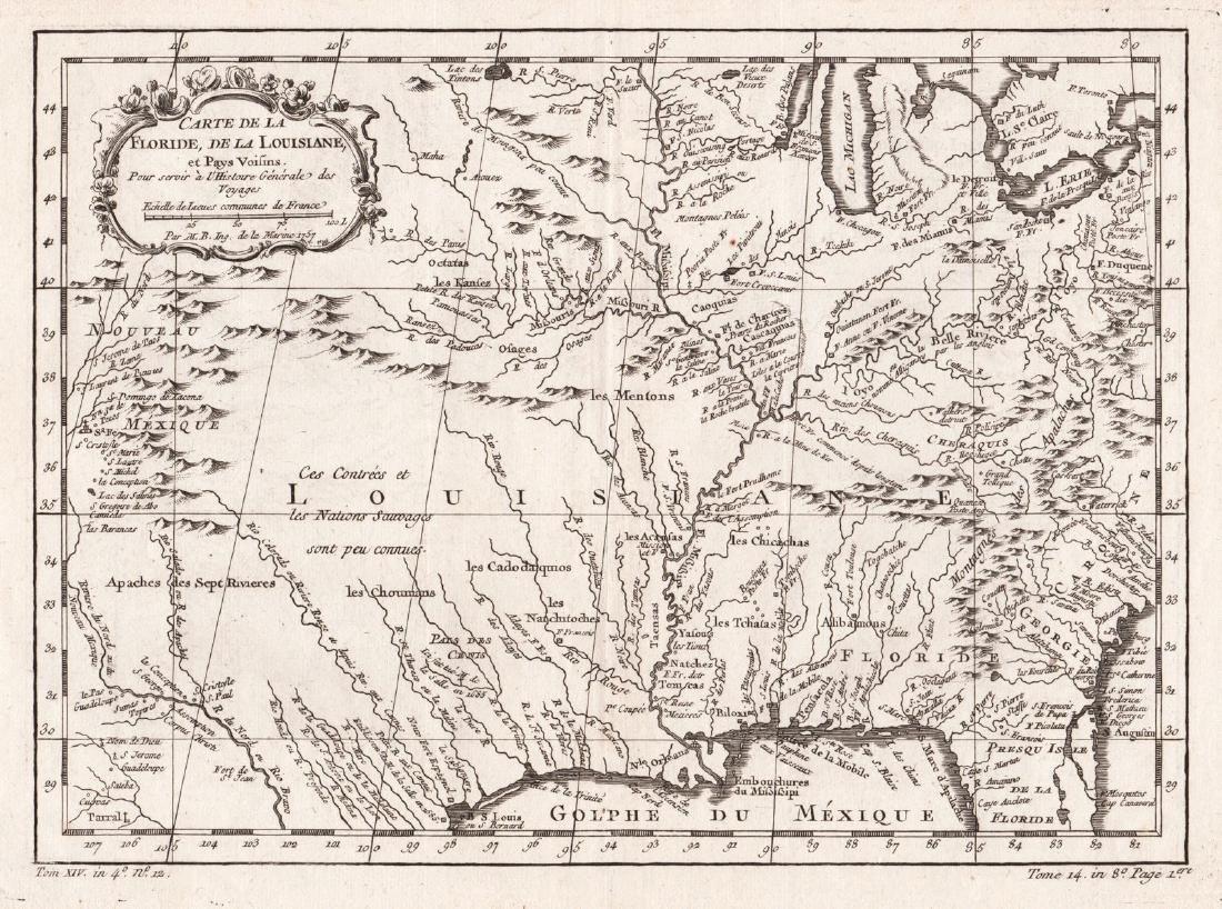 Bellin: Louisiana and Florida (Mississippi Basin)