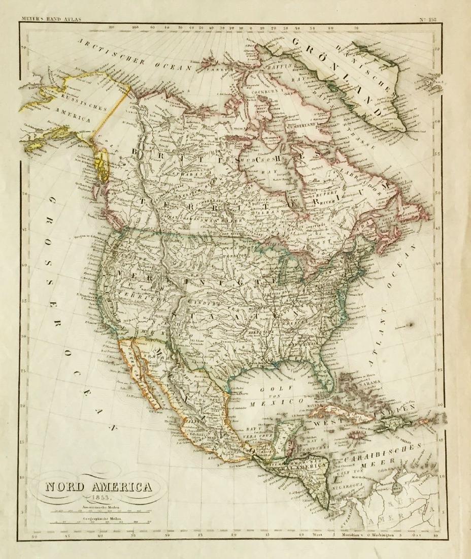 Meyer: North America in 1853