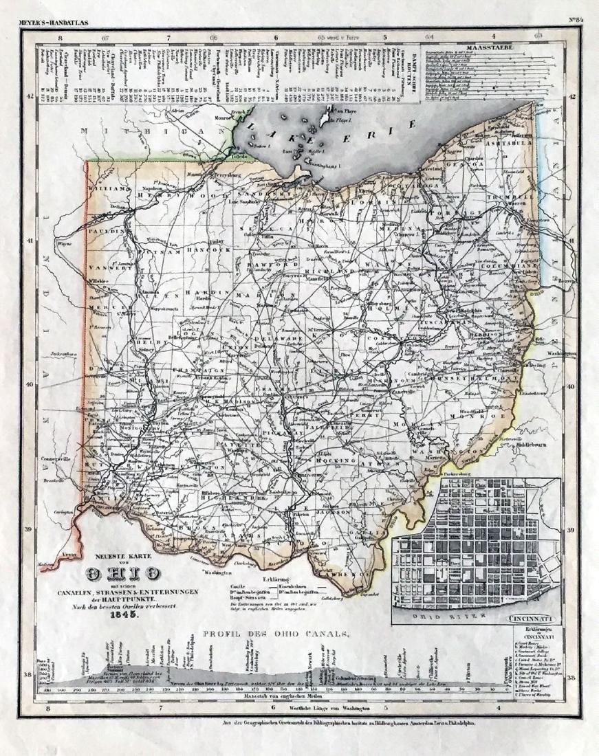 Meyer: Ohio with Cincinnati Inset