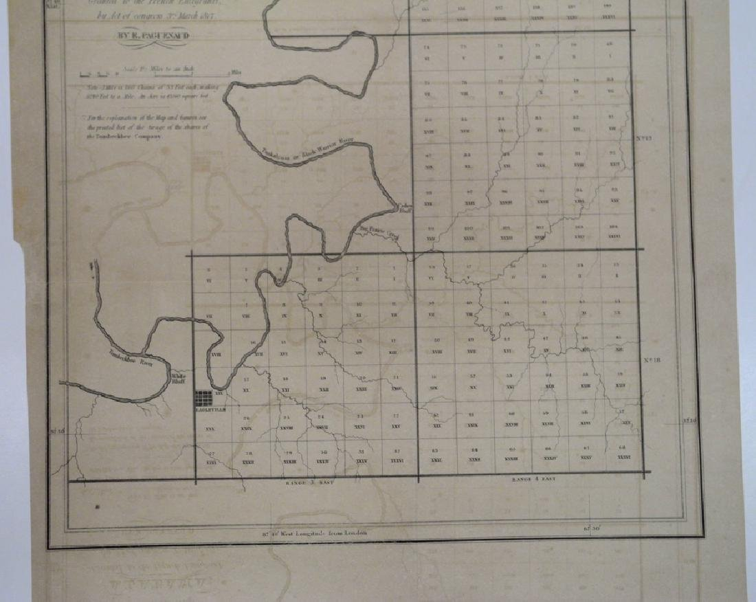 Map of Four Townships in Marengo County Alabama; - 2