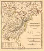NORTH AMERICA EAST. Canada USA. Canal Profiles. 1830