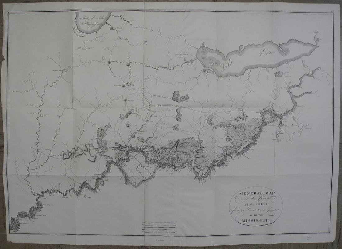 General Map of the Course of the Ohio