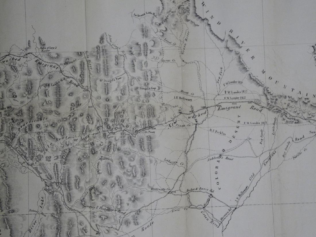 Map of the Central Division Ft. Kearney South Pass & - 2