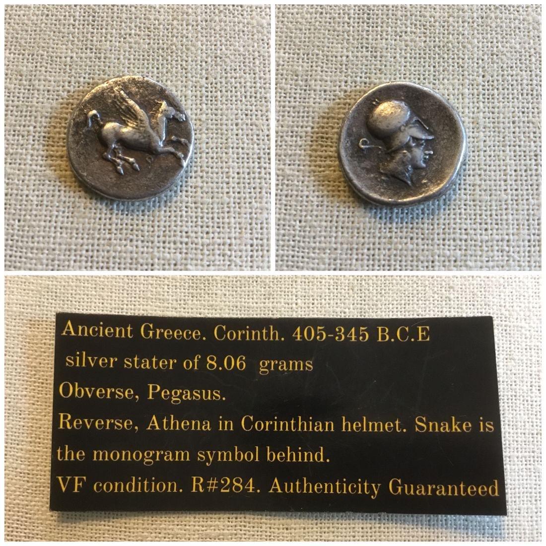Ancient Greece. Corinth. 404-345 BCE. Pegasus/ Athena. - 2