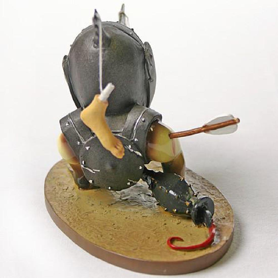 After Jheronimus Bosch: Helmeted Bird Monster statue - 3