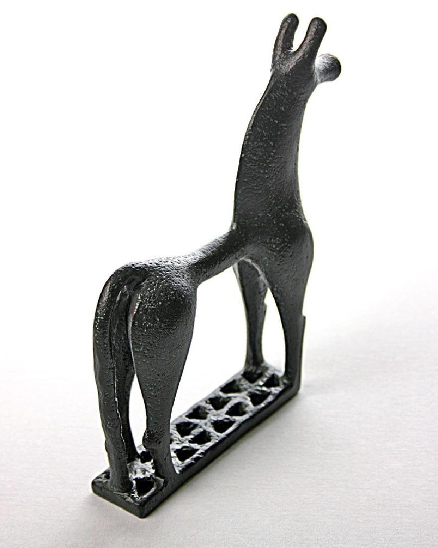 Greek Art: Greek Geometric Horse Statue - 4