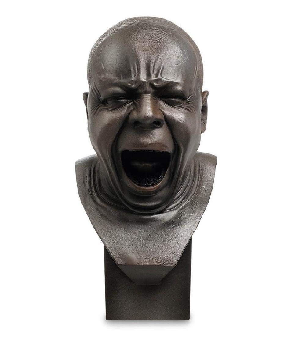 After Messerschmidt: The Yawner Bust statue