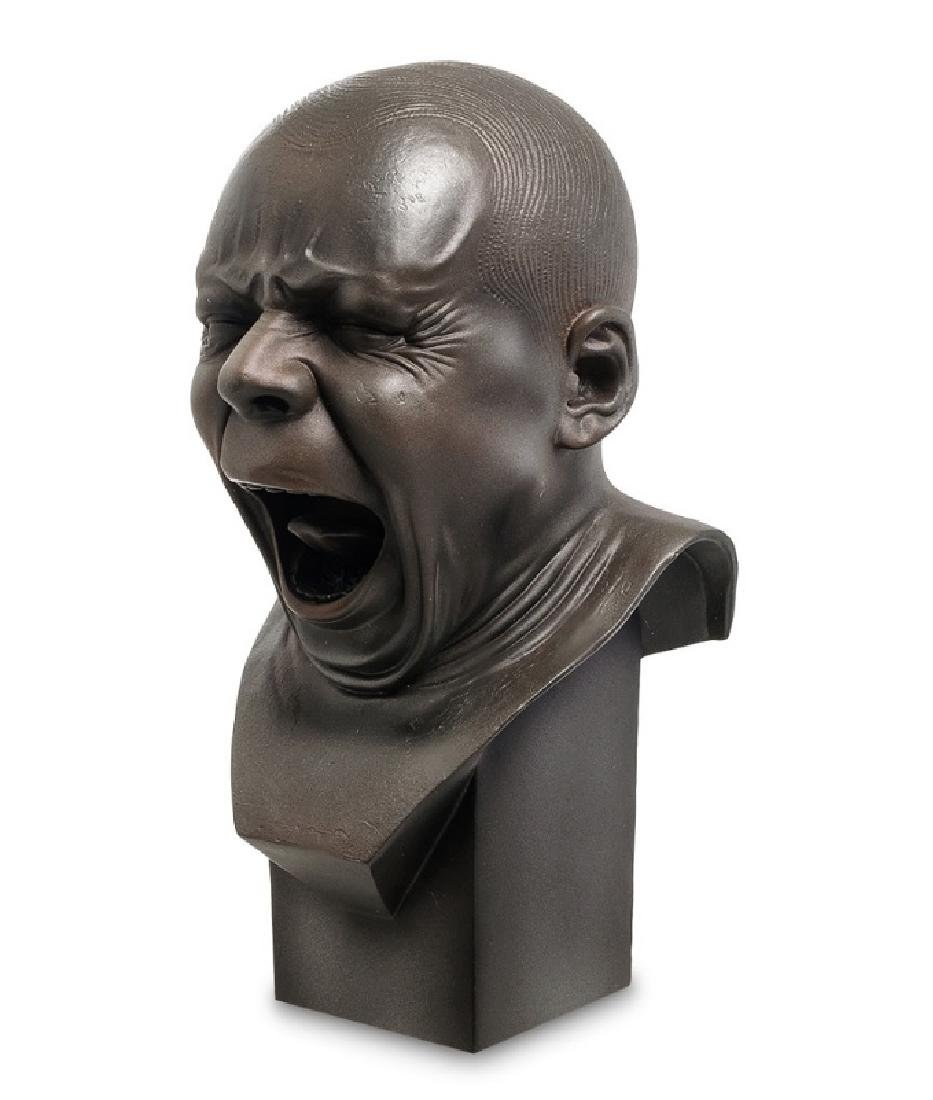 After Messerschmidt: The Yawner Bust statue - 2