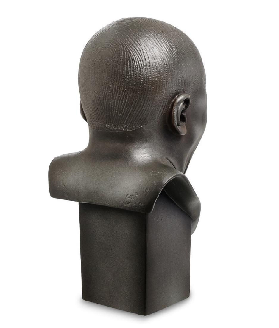 After Messerschmidt: The Yawner Bust statue - 3