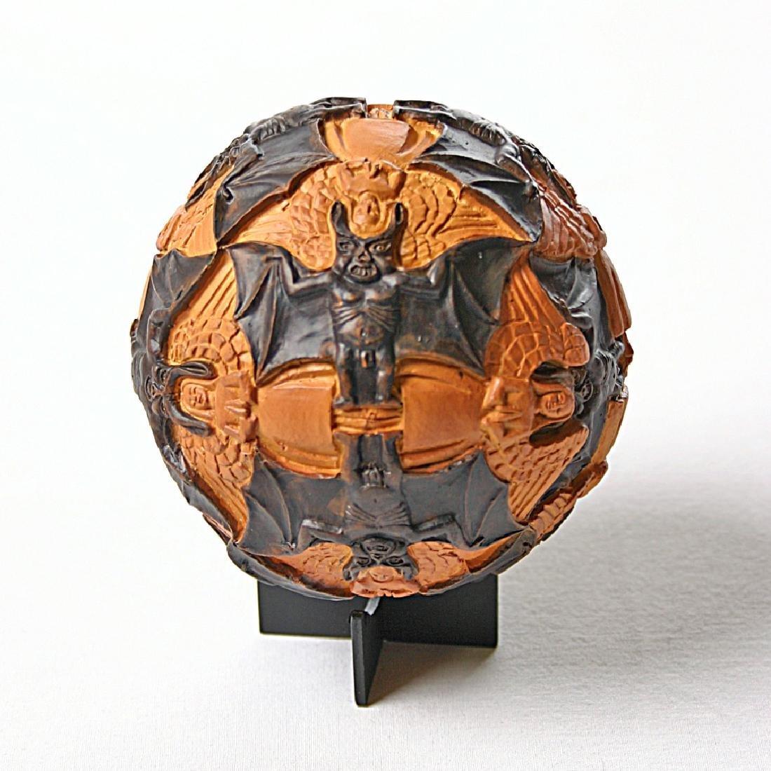 After Maurits Escher: Sphere Angels & Devils Statue - 2