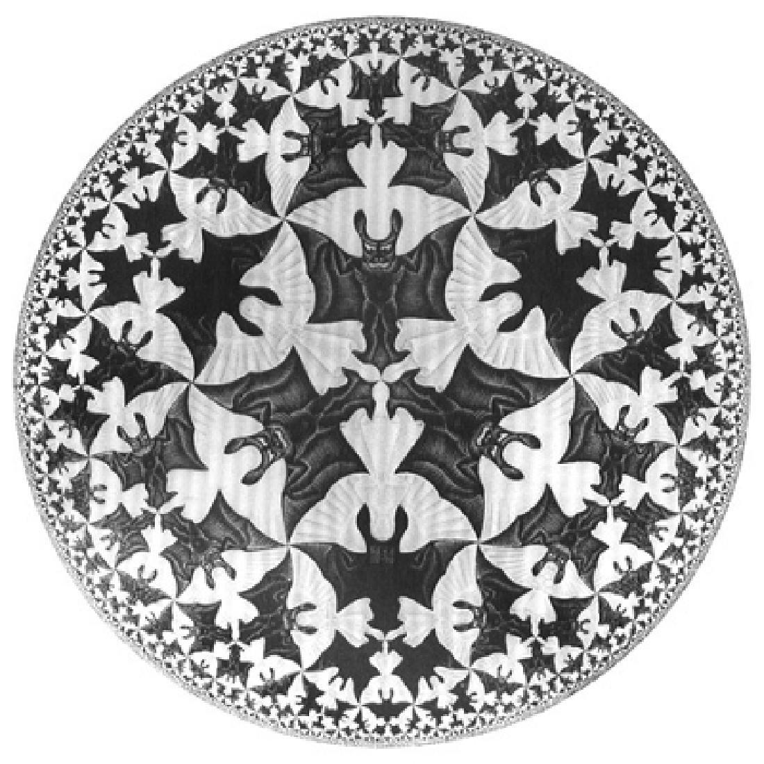 After Maurits Escher: Sphere Angels & Devils Statue - 3