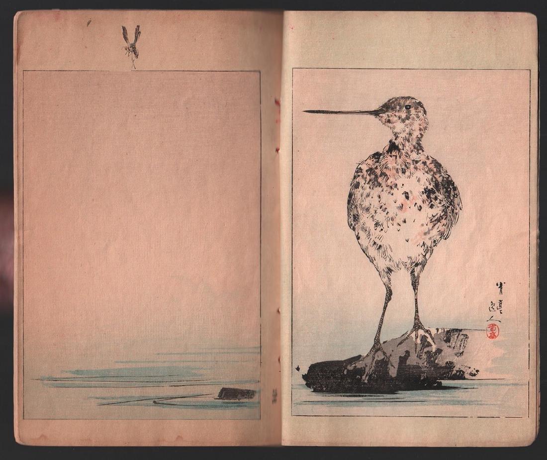 Watanabe Seitei Woodblock Bird & Nature Ehon 25 Pages