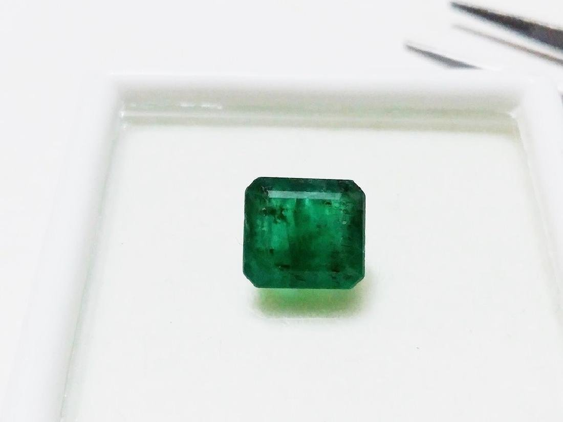 Natural Green Colombian Emerald