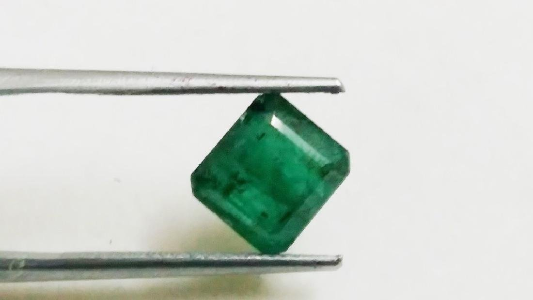 Natural Green Colombian Emerald - 2