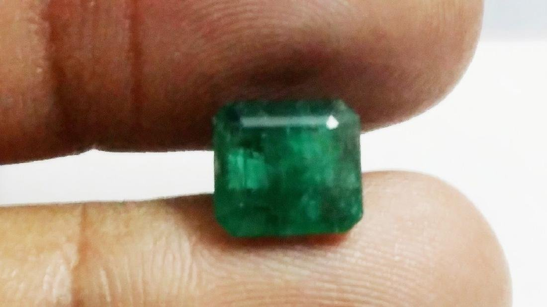 Natural Green Colombian Emerald - 3