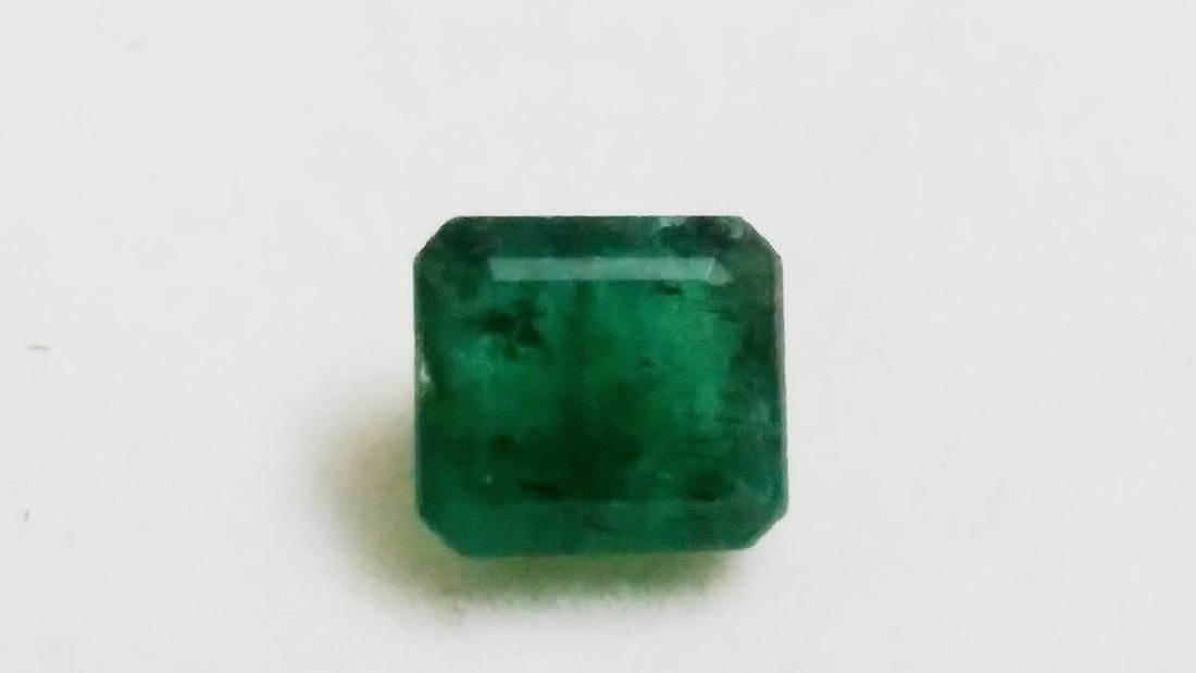 Natural Green Colombian Emerald - 4