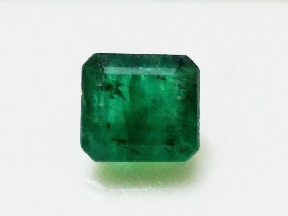 Natural Green Colombian Emerald - 5