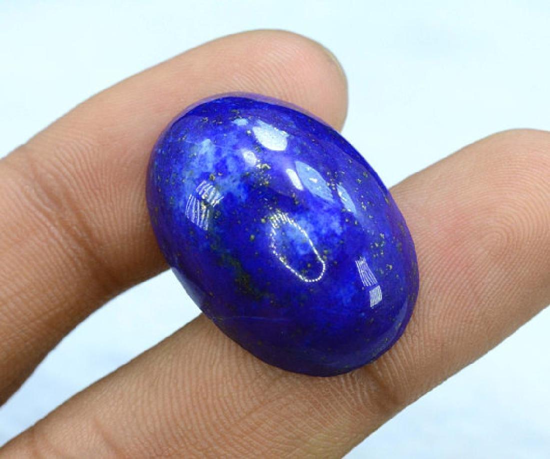 29.80 carats Untreated Royal Blue Color Lapis Lazuli - 4