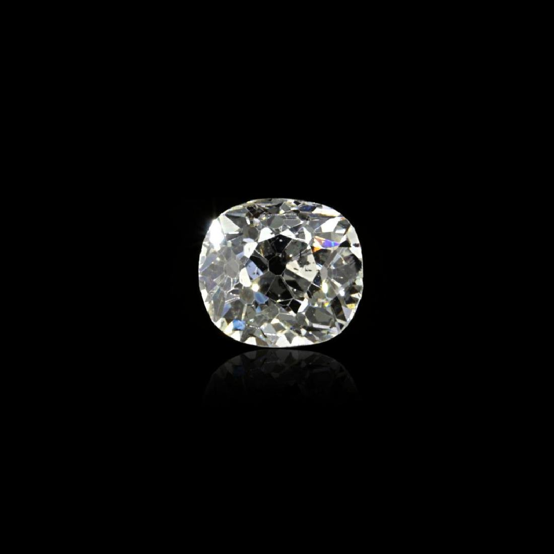 0.99 Ct. Natural G Color Old cut diamond.