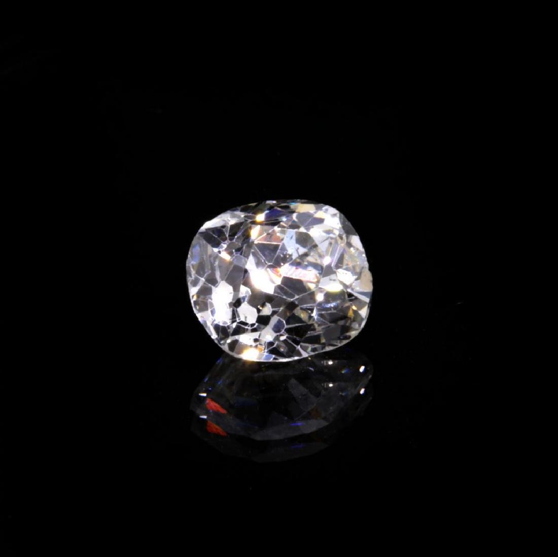 0.99 Ct. Natural G Color Old cut diamond. - 3