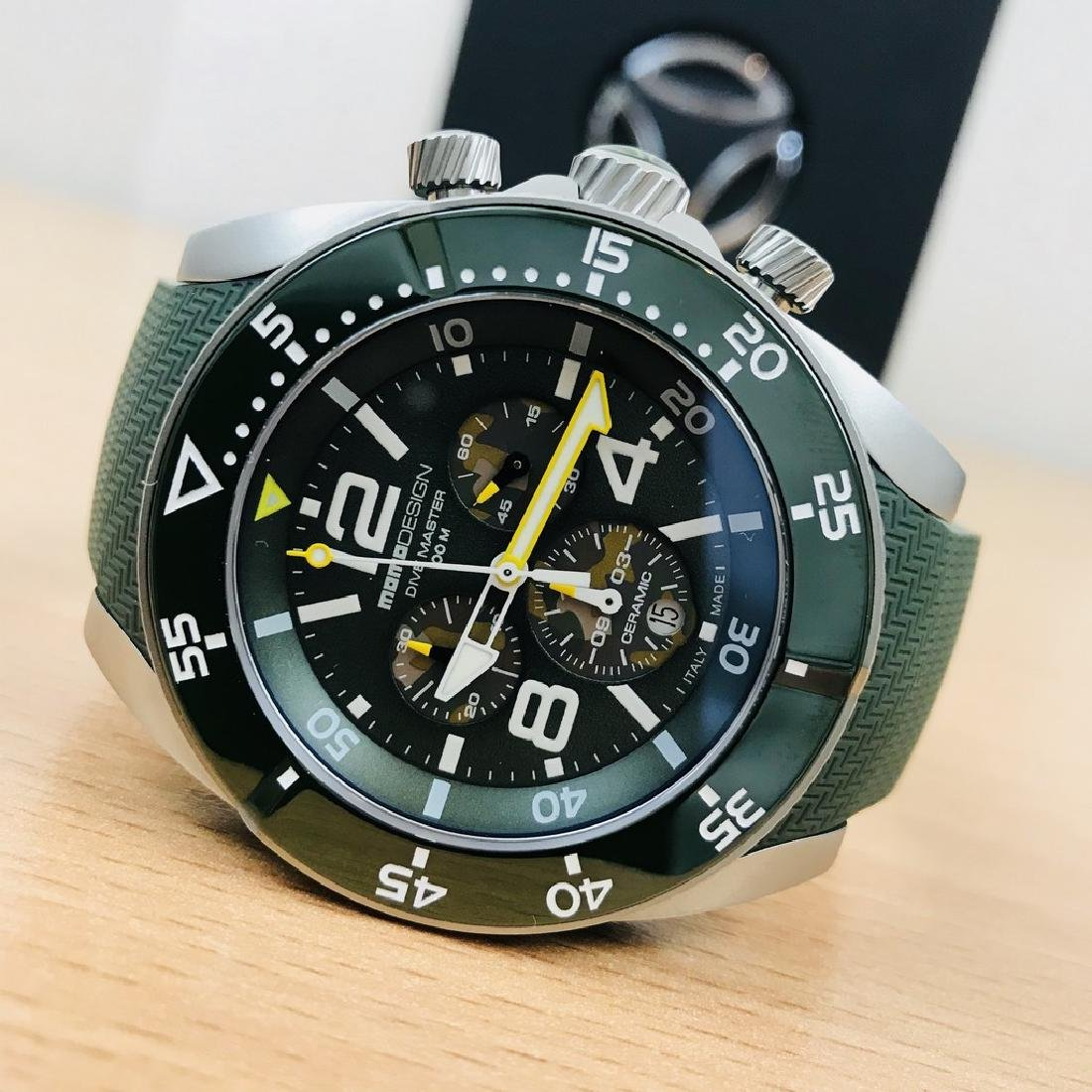 MomoDesign – Diver Master Sport Swiss Chronograph RRP: