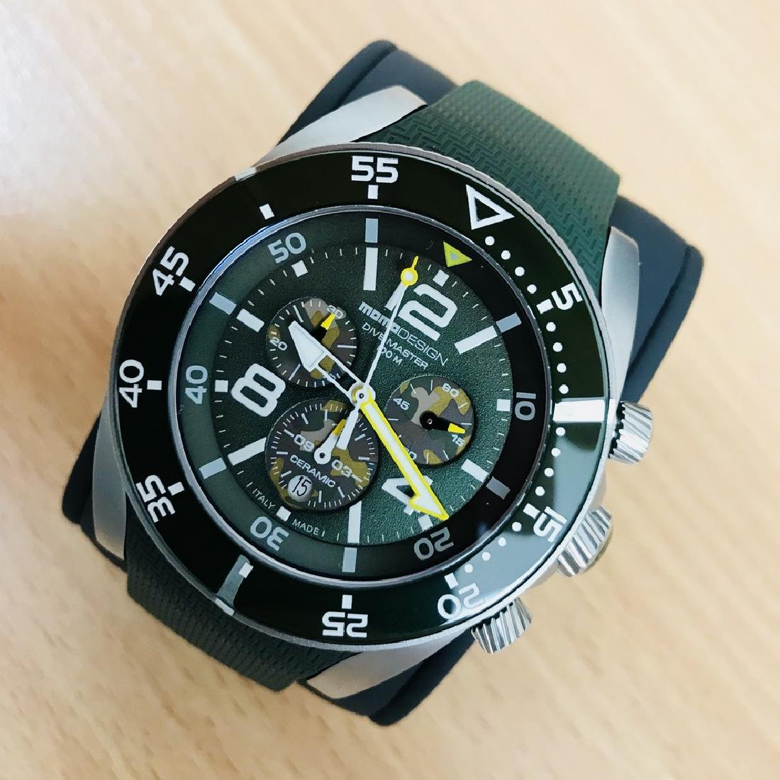 MomoDesign – Diver Master Sport Swiss Chronograph RRP: - 4