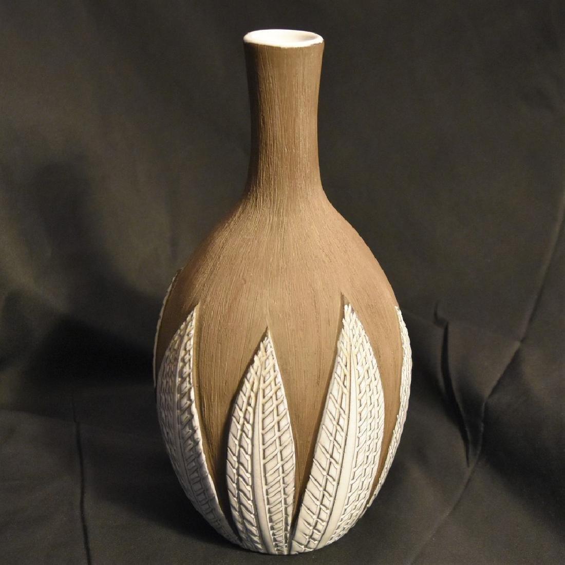 Upsala Ekeby Paprika Pottery Vase Anna-Lisa Thomson Mid