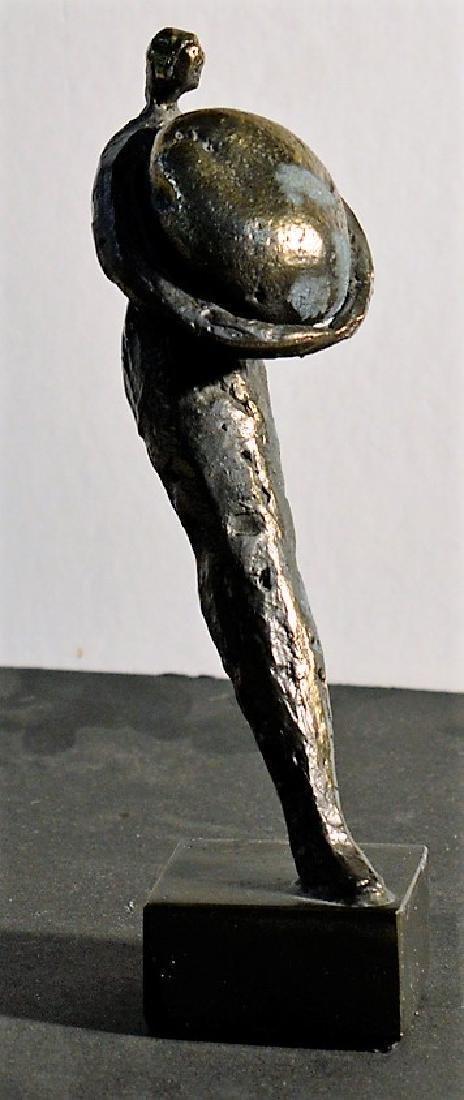 Herman van den Broek Man with stone
