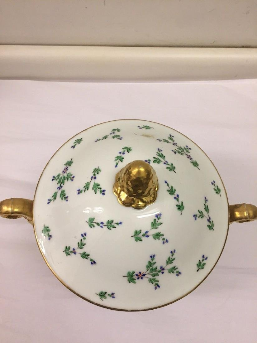 Paris Porcelain Gilt And Enameled Covered Tureen, 1810 - 2