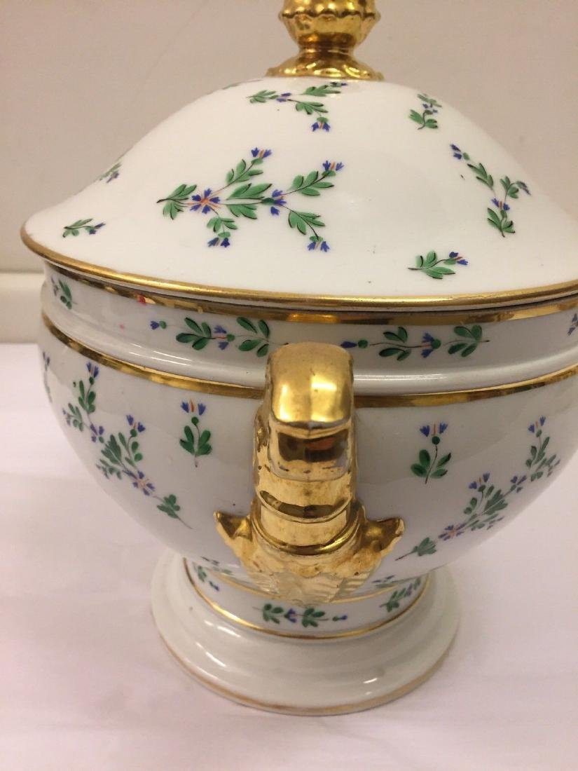 Paris Porcelain Gilt And Enameled Covered Tureen, 1810 - 5