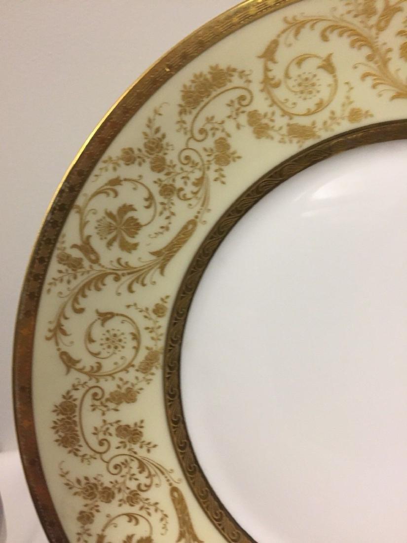 Set of 11 Antique German Porcelain Dinner Plates, 1900 - 3
