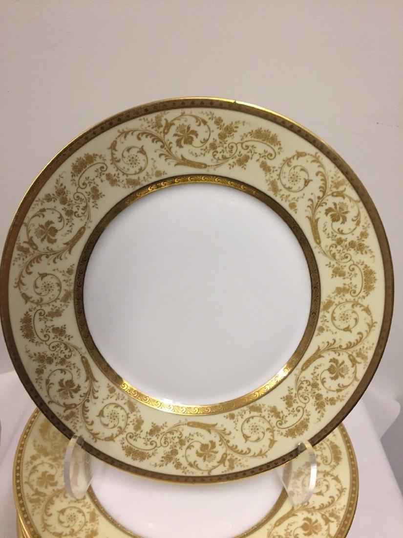 Set of 11 Antique German Porcelain Dinner Plates, 1900 - 4