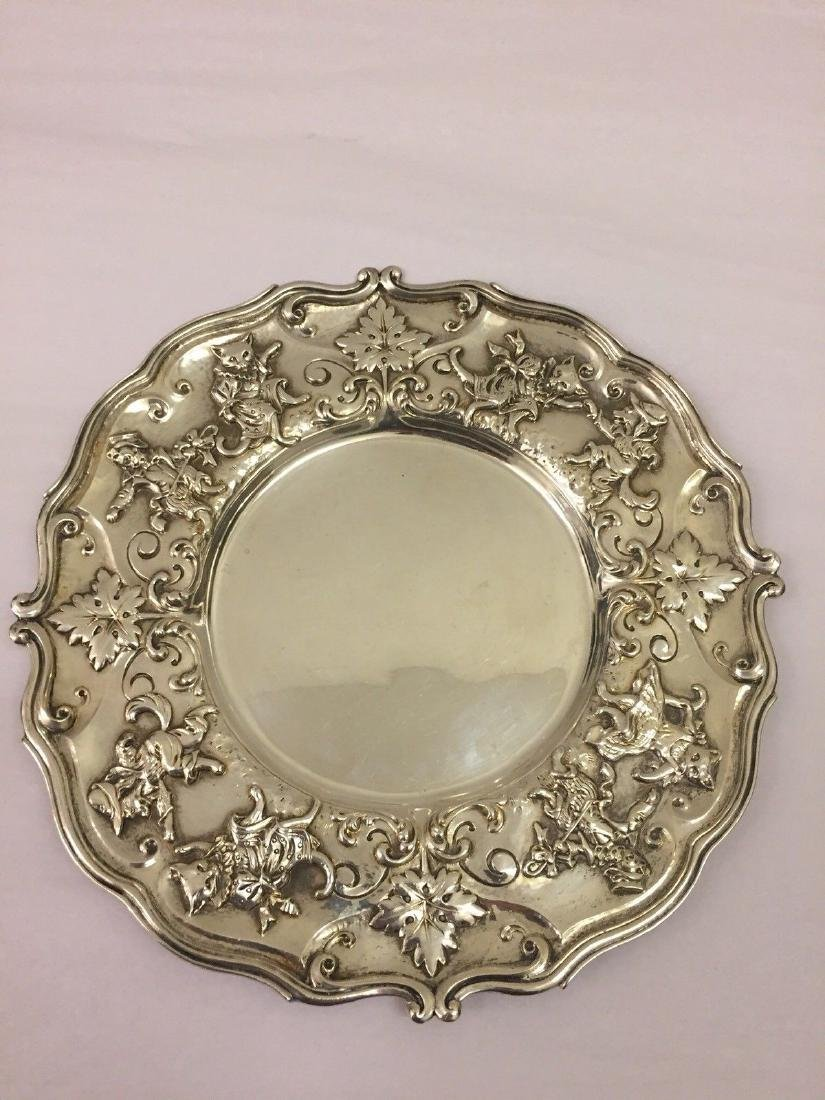 Antique American Sterling Silver Dish, circa 1900