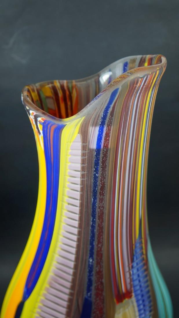 MURANO GLASS VASE TESSUTO - MADE MURANO GLASS - 5