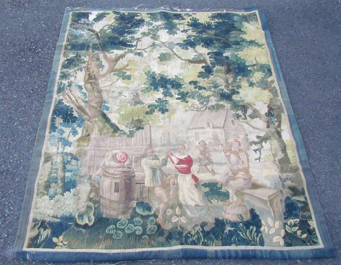 Original 17th CENTURY ANTIQUE TAPESTRY