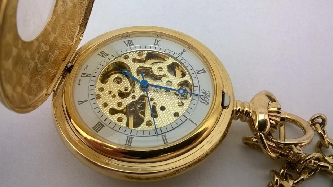 Mechanical Russian Pocket Watch - Russia Time - 4