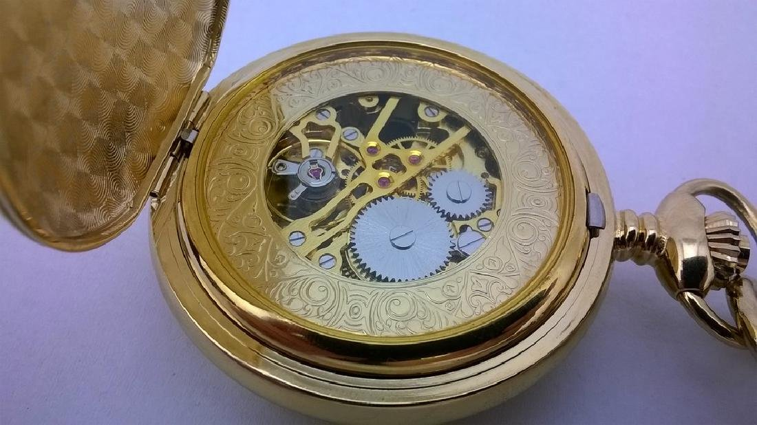 Mechanical Russian Pocket Watch - Russia Time - 5