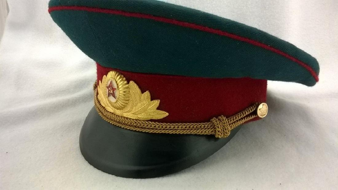 ?eremonial headgear an officer of Soviet Army