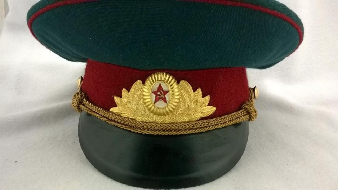 ?eremonial headgear an officer of Soviet Army - 2