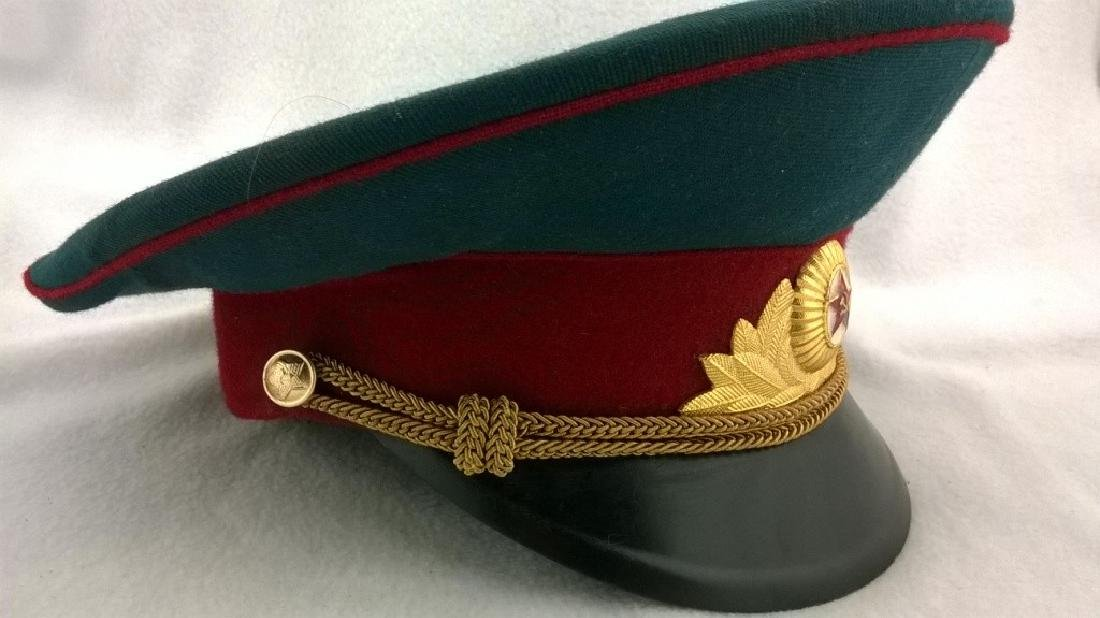 ?eremonial headgear an officer of Soviet Army - 4