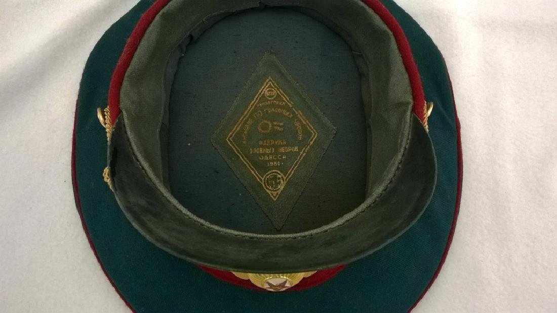 ?eremonial headgear an officer of Soviet Army - 6