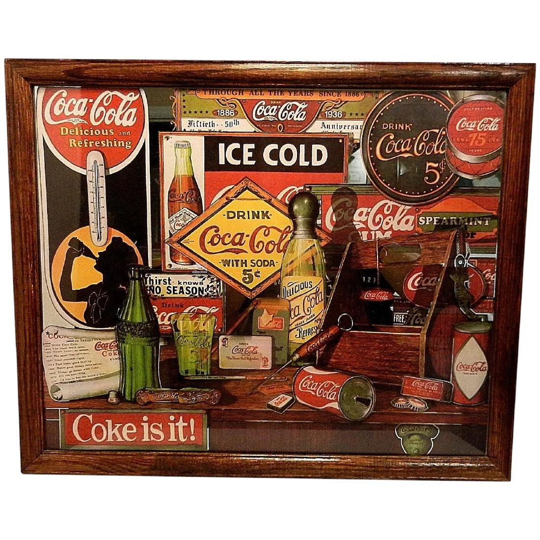 Vintage 1992 Coca Cola Through the Years Limited