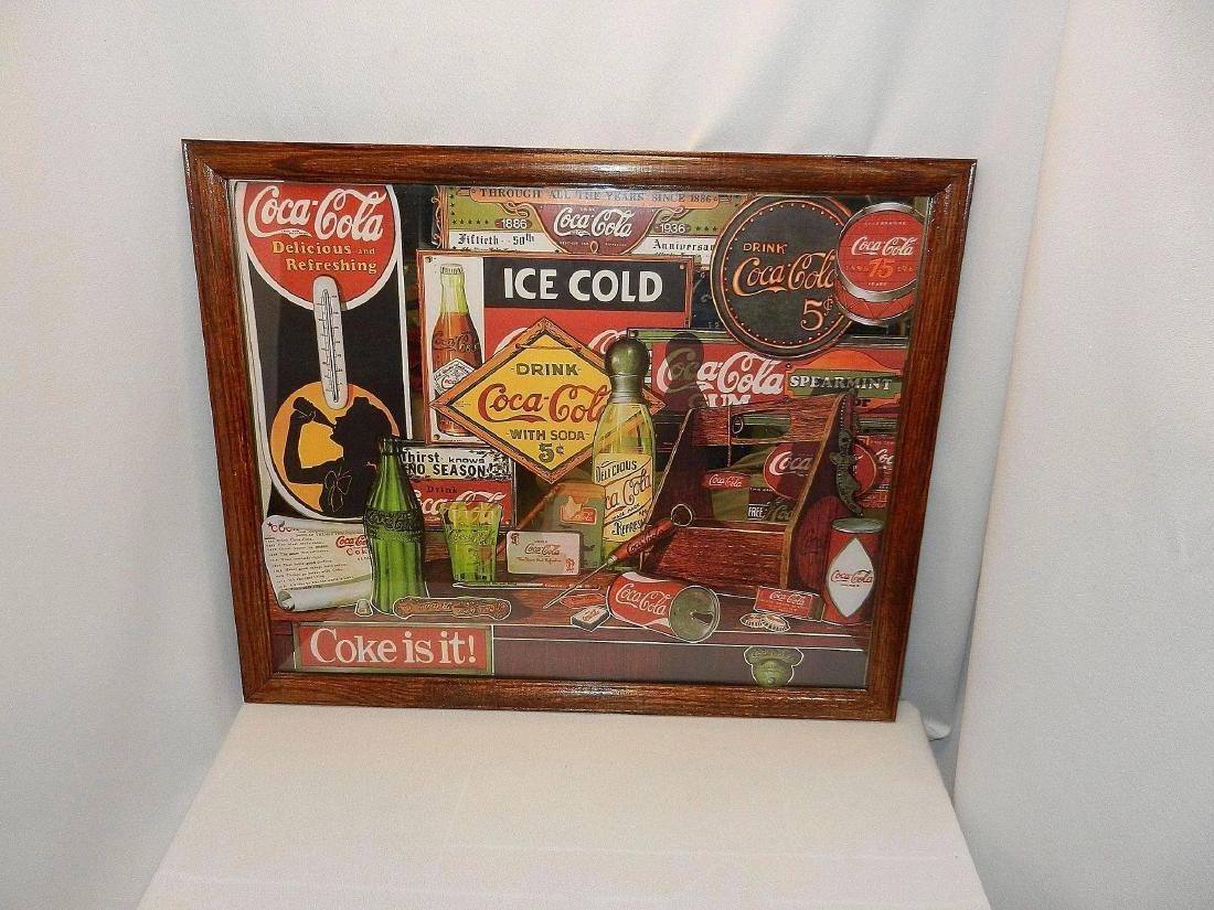 Vintage 1992 Coca Cola Through the Years Limited - 3