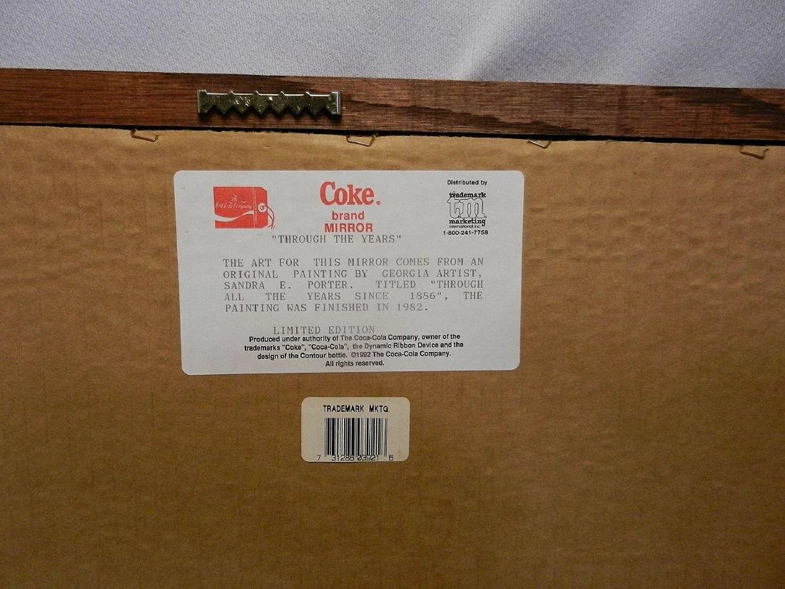Vintage 1992 Coca Cola Through the Years Limited - 6