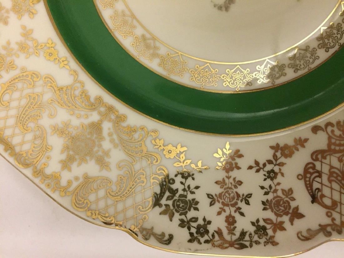 12 Czechoslovakia Porcelain Dinner Plates, 20th cent. - 10