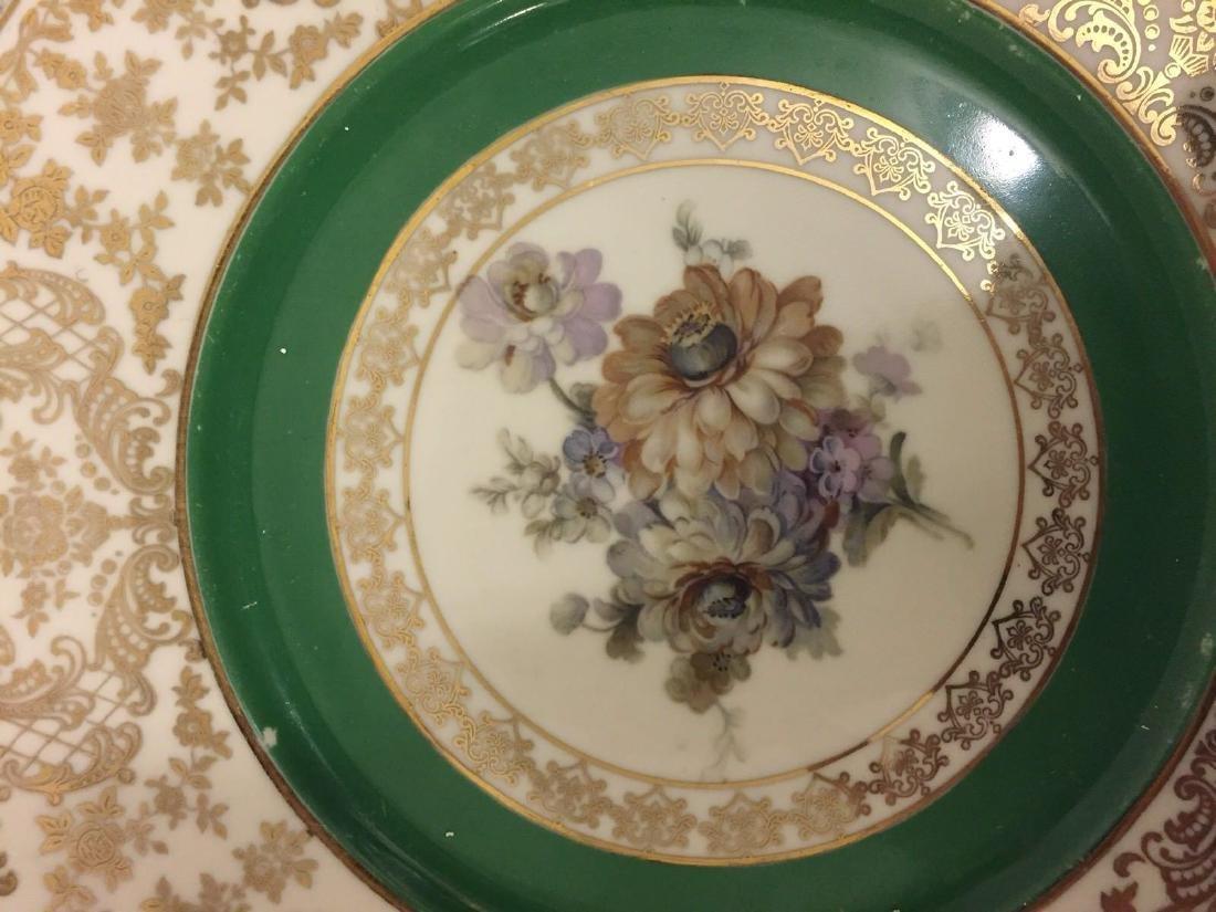 12 Czechoslovakia Porcelain Dinner Plates, 20th cent. - 4