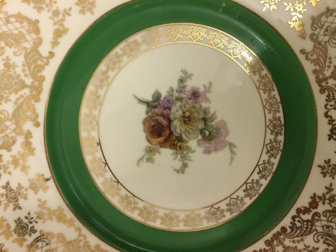 12 Czechoslovakia Porcelain Dinner Plates, 20th cent. - 8