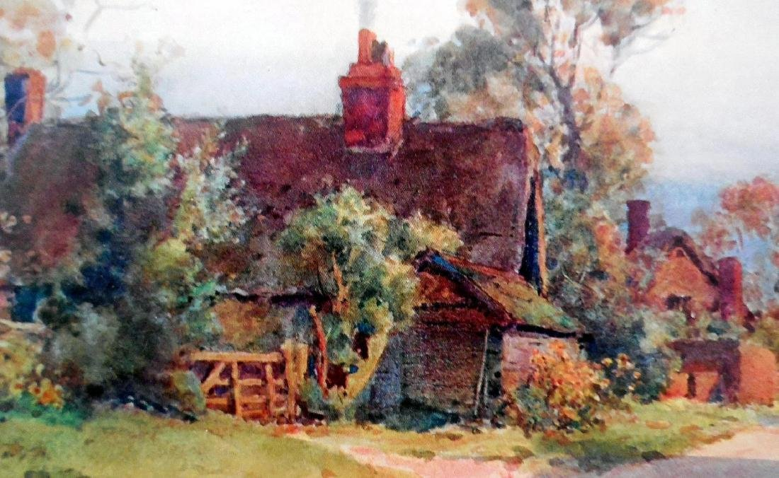 Antique Prints of English Cottages - 6